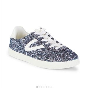Tretorn Camden sneakers with glittered design